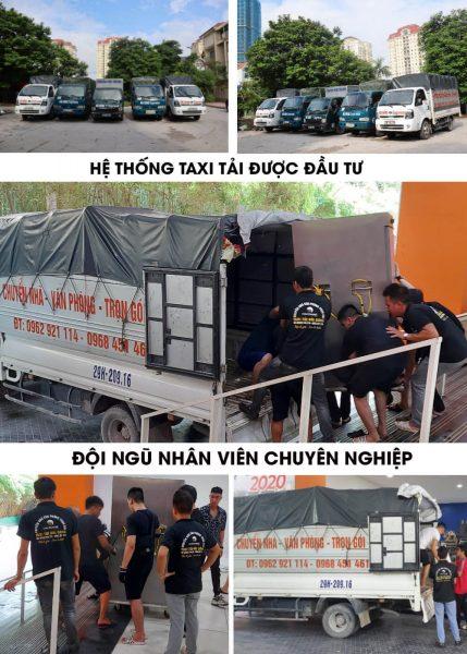 Bảng giá chuyển nhà trọn gói Hà Nội