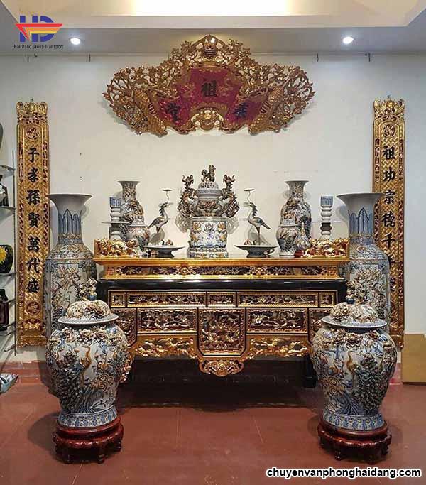 bàn thờ thổ công và gia tiên
