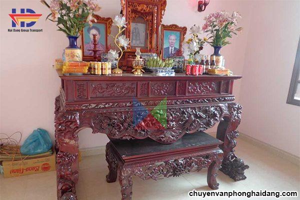 cách bố trí bàn thờ