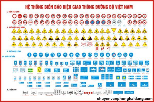 Hệ thống biển báo giao thông đường bộ