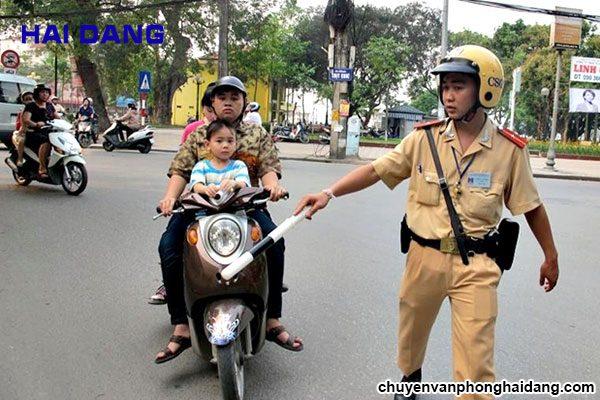 xử phạt vi phạm giao thông