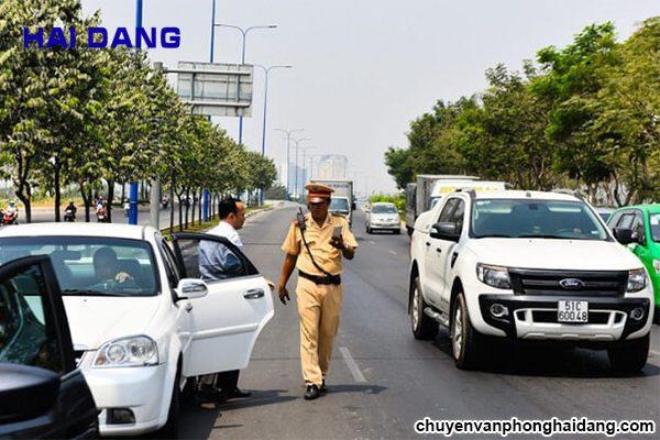 mức phạt vi phạm giao thông mới nhất
