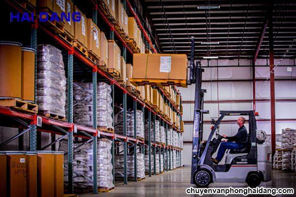 Quy trình chuyển kho xưởng trọn gói của taxi tải Hải Đăng