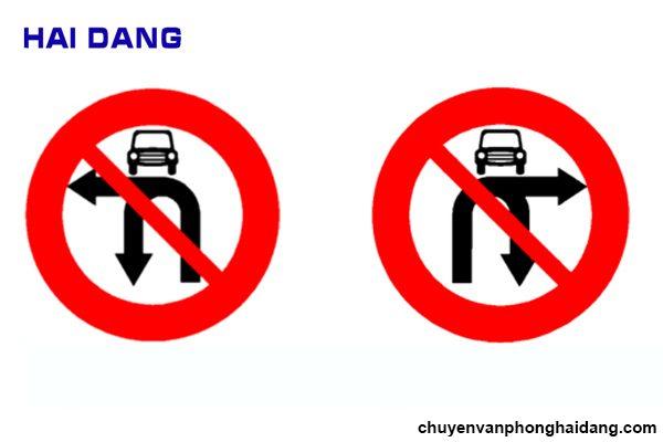 Biển cấm xe ô tô và xe máy